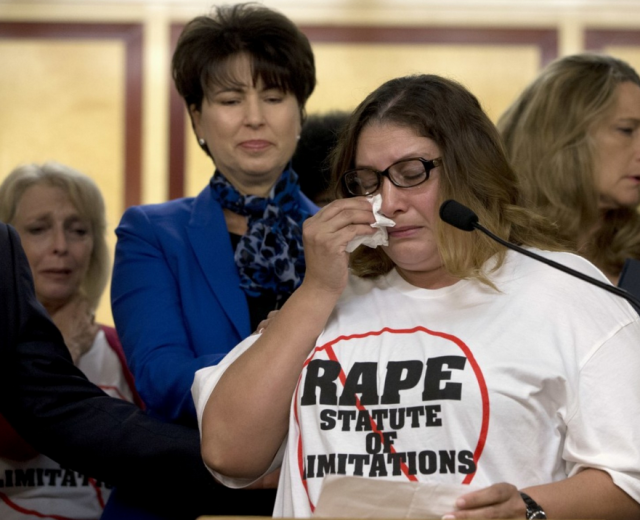 California may soon eliminate the statute of limitations for rape charges
