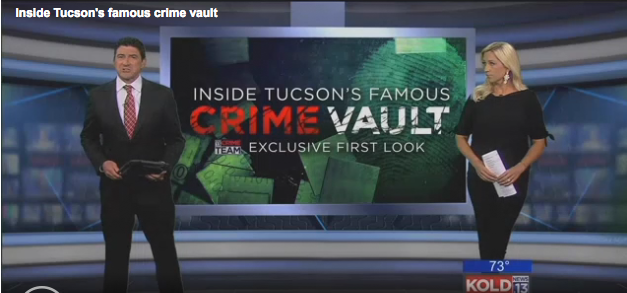 ONLY ON KOLD: Inside Tucson's crime vault