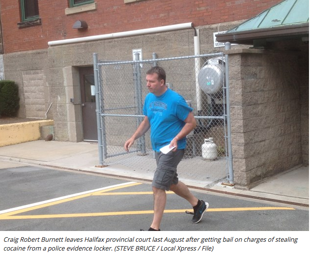 Former N.S. Mountie ordered to stand trial in theft of cocaine from evidence locker
