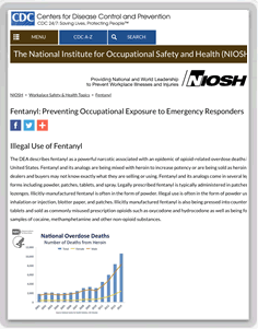 NIOSH – The Illegal Use of Fentanyl